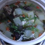 sissel9994975薏米排骨冬瓜汤的做法
