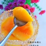 柔蓝水晶自制黄桃罐头的做法