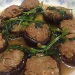 我是陈小厨鲜肉酿香菇的做法