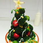 兔兔想吃西兰花圣诞树的做法