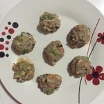 涂涂麻麻(来自腾讯.)玉米蔬菜肉丸的做法