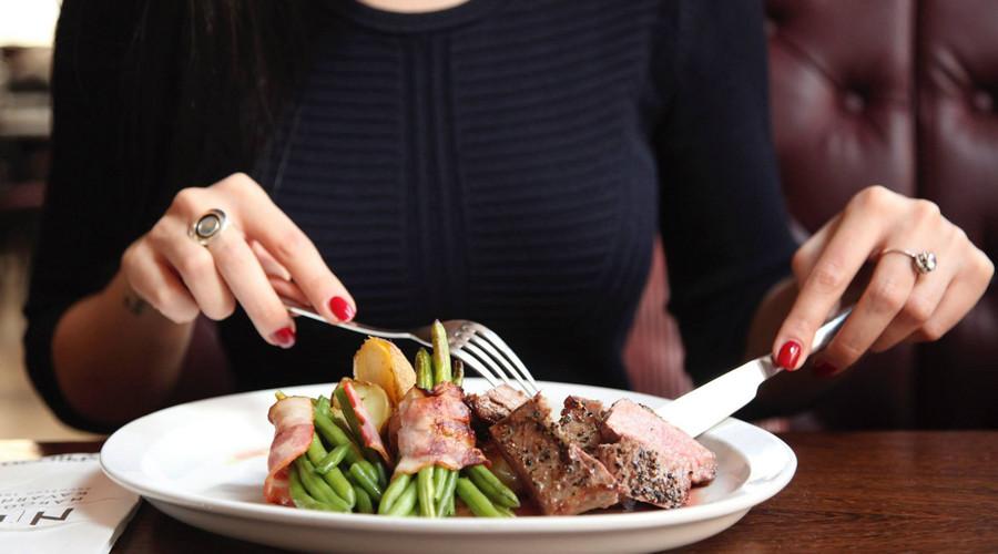 人最佳的吃饭时间图片