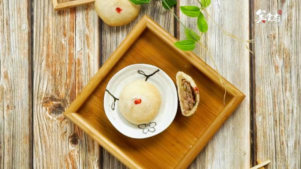 苏式鲜肉月饼的做法视频图片