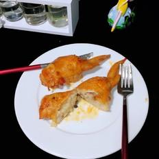 蜜烤鸡翅包饭