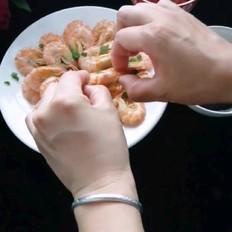 原味水煮虾
