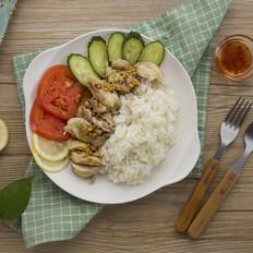 简易式海南鸡饭