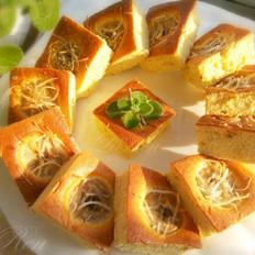 香蕉椰丝蛋糕