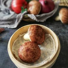 香菇造型豆沙包