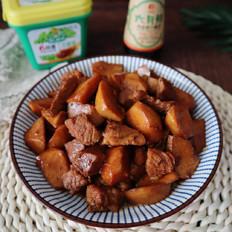 杏鲍菇炖肉