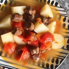 无香料番茄土豆炖牛腩