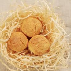 有了这些好吃的黄金椰蓉球,宝贝春节旅途不寂寞