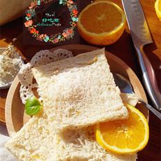 中种橙香吐司