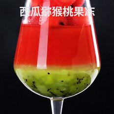 西瓜猕猴桃果冻