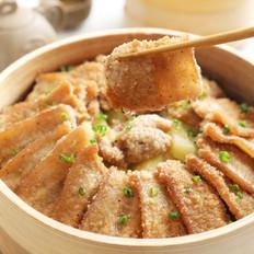 米粉和肉的结合,超级好吃又下饭哦——家庭版粉蒸肉