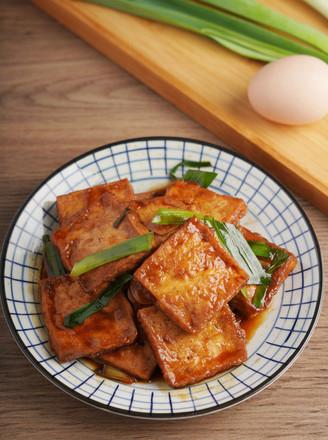 蚝油豆腐【孔老师教做菜】的做法