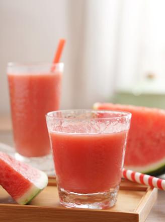 鲜榨西瓜汁【孔老师教做菜】的做法
