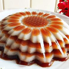 椰汁红糖(黑糖)千层马蹄糕
