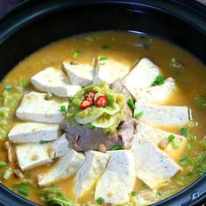 酱香豆腐煲