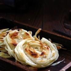 饺子皮版金丝饼