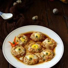 鸡肉玉米蒸蛋