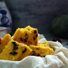 红枣奶香玉米面发糕
