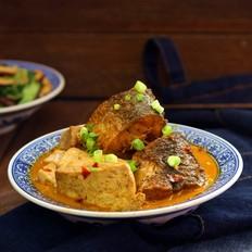 酱香胖头鱼炖豆腐
