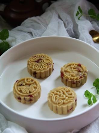 蔓越莓绿豆糕的做法