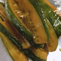 夏日送粥下饭小菜~酱黄瓜