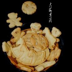 松子仁饼干