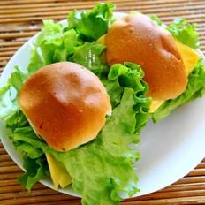 生煎牛排汉堡