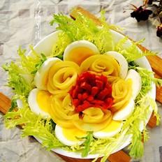 凉拌苦菊#午餐#