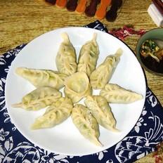 韭菜杏鲍菇馅水饺