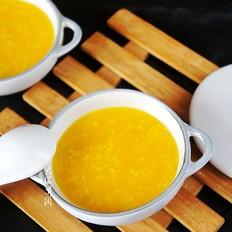 南瓜大黄米粥