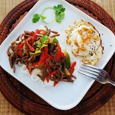 黑椒肉丝米线