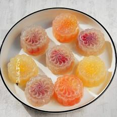 水晶水果月饼
