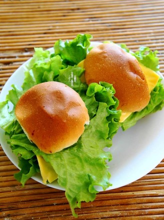 生煎牛排汉堡的做法
