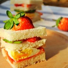 一颗鸡蛋的百变花样——开放三明治