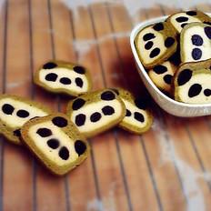 可爱熊猫饼干