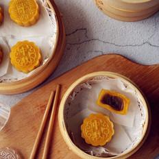 南瓜蒸月饼
