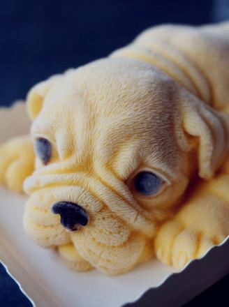 3D沙皮狗慕斯蛋糕的做法
