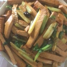 芹菜豆腐干