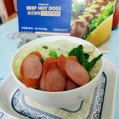 科尔沁香肠汤面