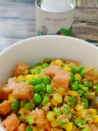 白藜麦减肥餐的做法