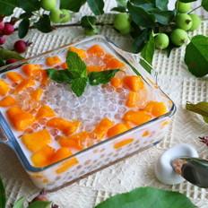 椰奶芒果西米露