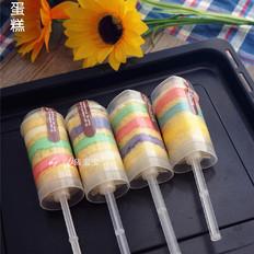 彩虹推推乐蛋糕