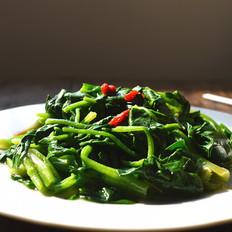 芥末拌菠菜