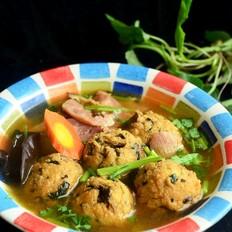 【团团圆圆】紫花菜汤豆腐