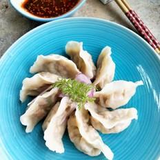 双笋牛肉饺子