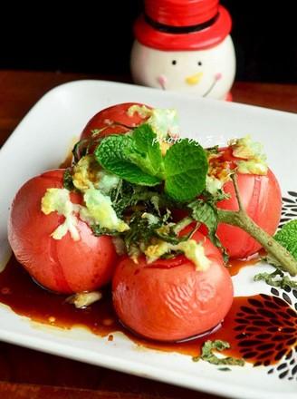 【事事如意】十香烤西红柿的做法