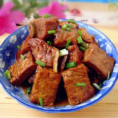 小排骨烧老豆腐